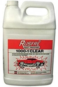rusfre-1000-1C Clear Innerpanel Coating