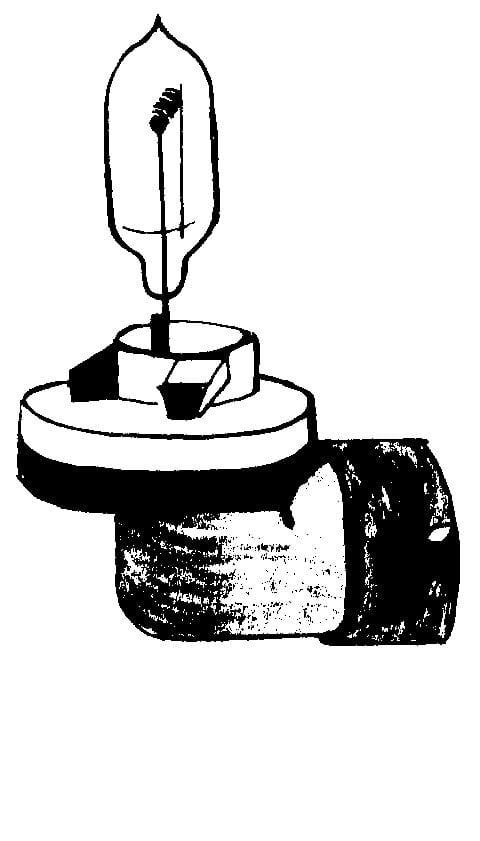 quartz halogen bulb   h886  fog lamp 90
