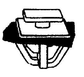 Moulding Clip Wsealer 14 3mm Stem Diameter