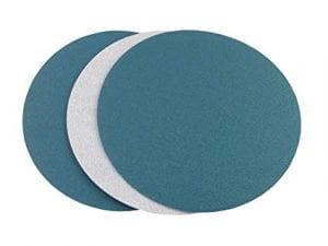 Heavy Duty PSA Discs Blended Blue Flat Pack Sticky Pk  ABS
