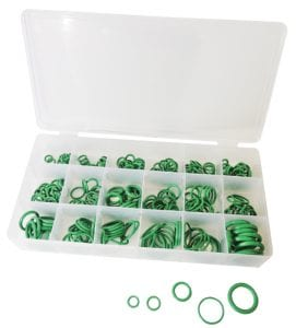 AssortmentTrayGreenNitrileO Rings