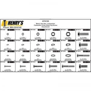 Metric Hex Nut, Lockwasher, Flatwasher and Cap Screw Assortment
