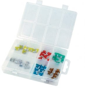 Assortment Tray Low Profile MINI BLADE FUSES AT1413
