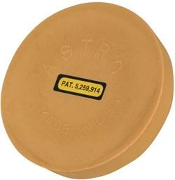 Astro Pinstripe Eraser Wheel Large 4 inch Rubber-BS30241