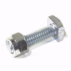 "Battery Bolt & Nut for Top Terminal 5/16""x1-1/2"""