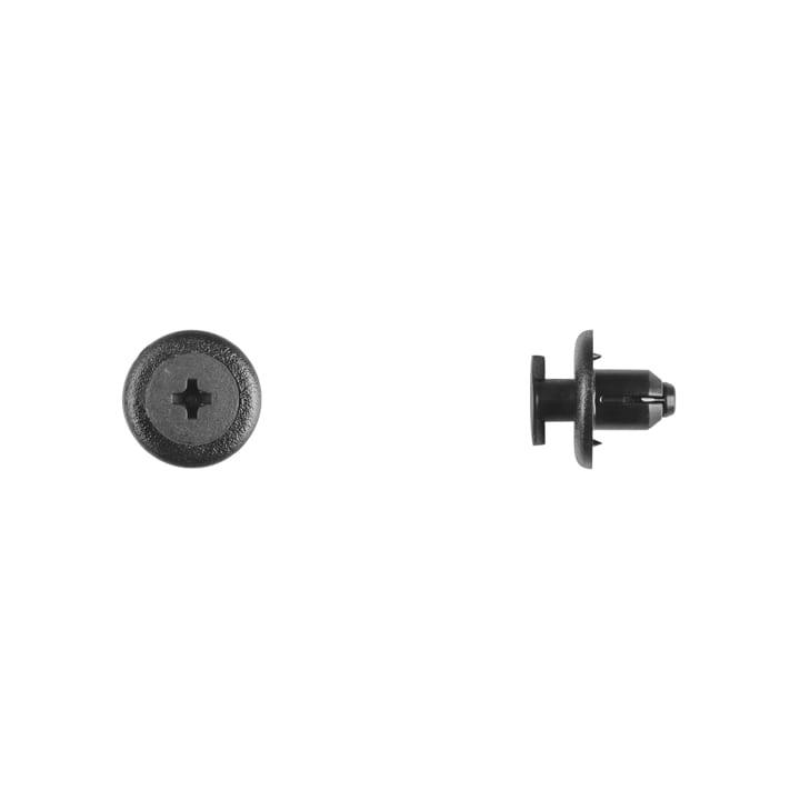 Black Nylon Front Bumper Retainer mm Hole mm Stem WF