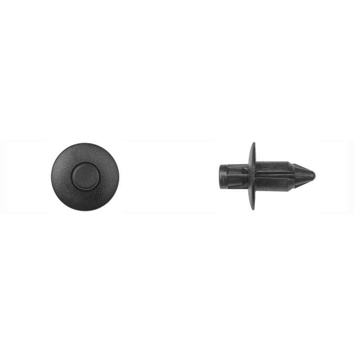 Black Nylon Push Type Retainer