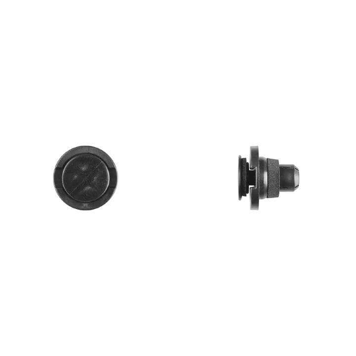 Black Nylon Rocker Moulding Retainer mm Hole mm Flange WF