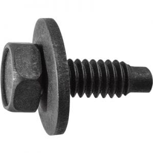 Body Bolt   inch   inch Loose   inch Washer Black WF