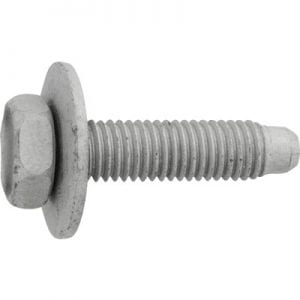 Body Bolt mm mm Loose mm Washer Zinc WF