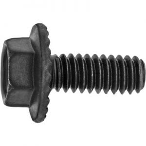 Body Bolt-Flange Head 1-4 x 5-8-Flange 5-8 Black-WF01020
