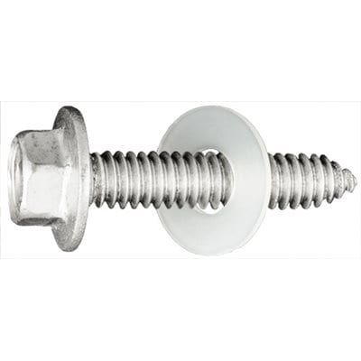 Body Bolt Flange Head Stainless   inch    inch   inch Washer WF
