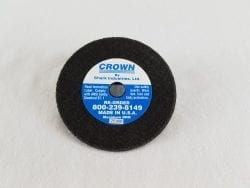 CUTOFF WHEEL CROWN BLUE 3″X1-16″-AB02335