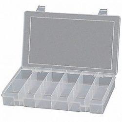 Compartment Box Clear Plastic