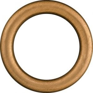 Drain Plug Gasket Crush Copper ID mm OD mm MS