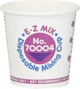 E Z MIX Paint Cup Paper  Pint oz EZ