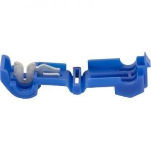 Female T Tap Connector Blue  Ga ES