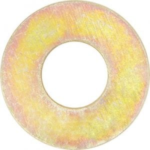 Flat Washer Grade  Zinc Plated SAE  WF