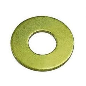 Flat Washer Grade 8 Zinc Plated SAE 9/16""