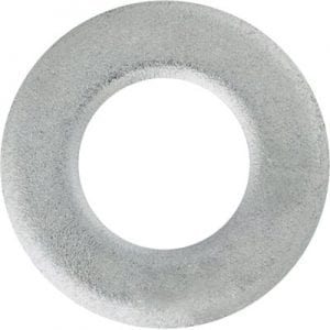 Flat Washer Metric Zinc Plated mm WF