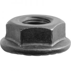 Hex Flange Nut Grip Lock   Hx WF