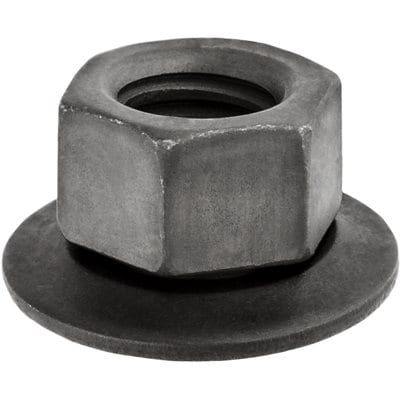 Hex Nut   inch  with Loose   inch Washer and   inch Hex Head WF