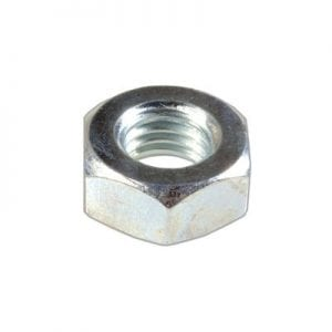 Hex Nut C Zinc Plated mm