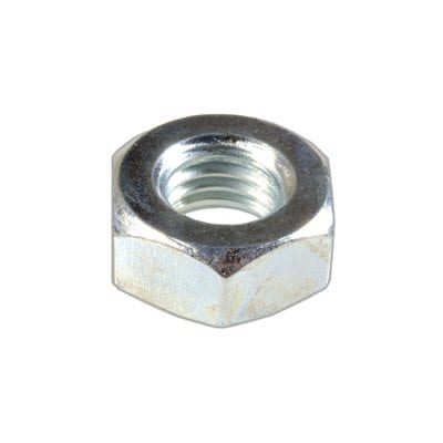 Hex Nut C Zinc Plated mm