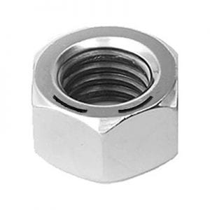 Hex Nut Grade  Zinc Plated  Hx  WF