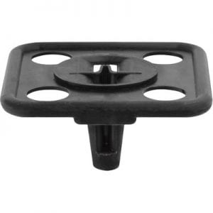 Hood Insulation Retainer   inch Hole    inch Square Head Ford WF