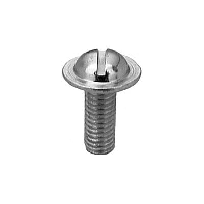 License Screw Slotted Washer Head Zinc Plated mmx WF