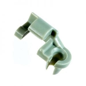 Lock Rod Clip Plastic Green LH Chrysler WF