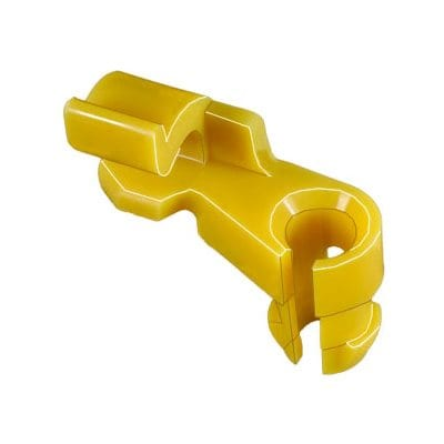 Lock Rod Clip Plastic Left mm Rod Yellow WF