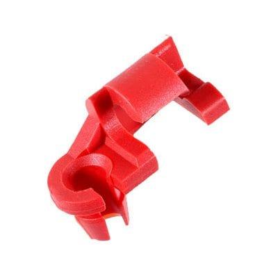 Lock Rod Clip Plastic Red RH Chrysler WF