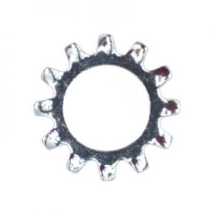 Lock Washer External Teeth Zinc Plated  WF