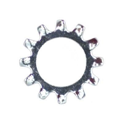 Lock Washer External Teeth Zinc Plated  Screw WF
