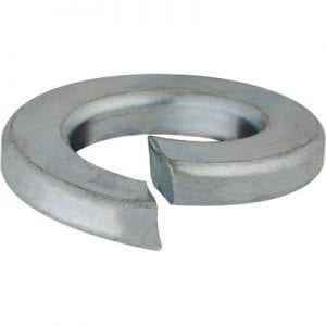 Lock Washer Split Zinc Plated mm WF