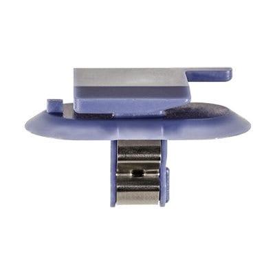 Moulding Clip w Metal BLUE mm Stem WF