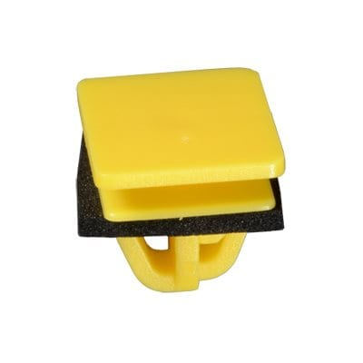 Moulding Clip w Sealer mm Slot Hole WF