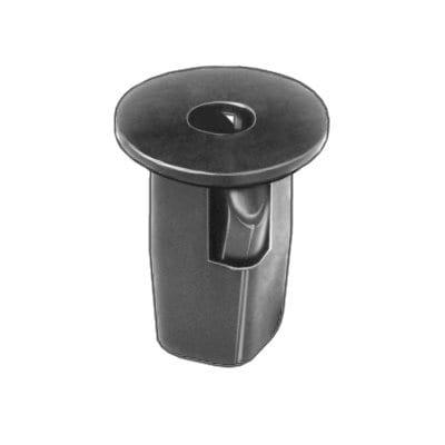 Nylon Nut  mm Screw Hole mm Square WF