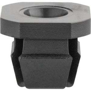 Nylon Nut   Screw Hole  square Black WF