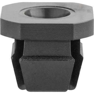 Nylon Nut   Screw Hole  square Black WF
