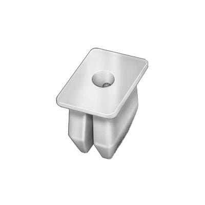 Nylon Nut  Screw Hole mmxmm Rectangular WF
