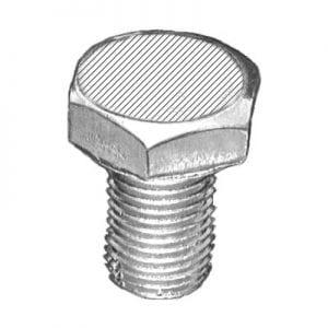 Oil Drain Plug Single Oversize   MS