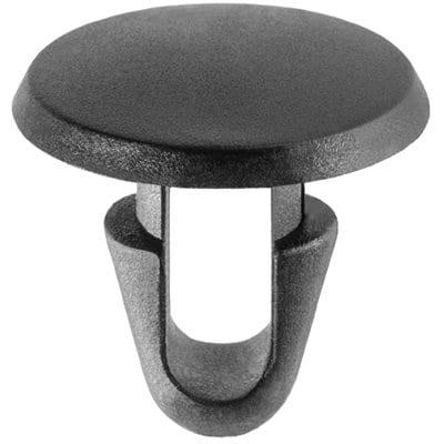 Panel Fastener mm Hole mm Long mm Flat Head Black WF