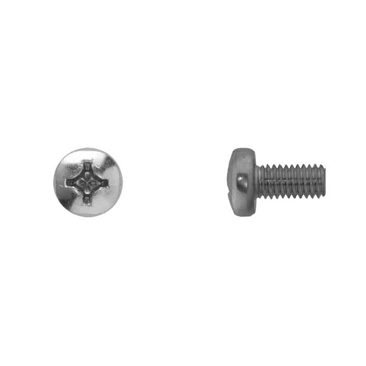 Phillips Pan Head Zinc Finish Machine Screw