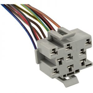 Pigtail Socket Dash Headlamp Switch Ford ES