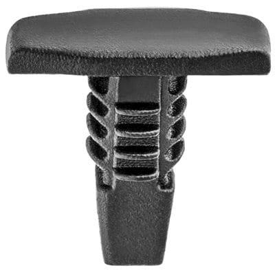 Push Nail   inch Hole Black W Strip WF