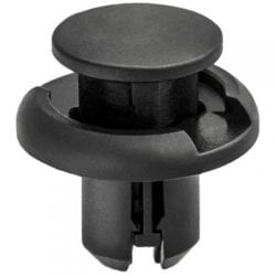 Push Pin Nail mm Hole mm Washer mm Grip Black WF