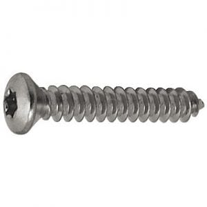 Screw Torx Oval Chrome Pltd 4.2mm x 55mm